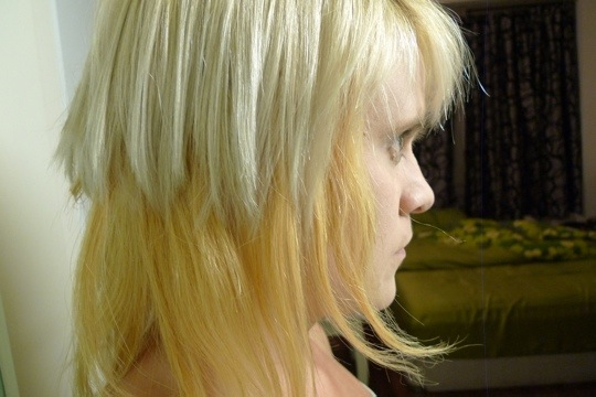 Blended Hair Extensions The Hair Does Not Blend at
