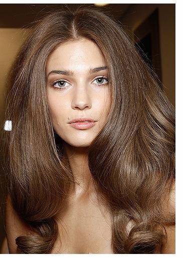 Каштановые цвет волос