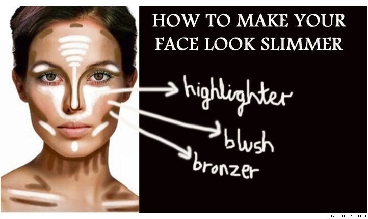You can use makeup to look slimmer. So if you have a round face, don't worry, with the right method you can look ...