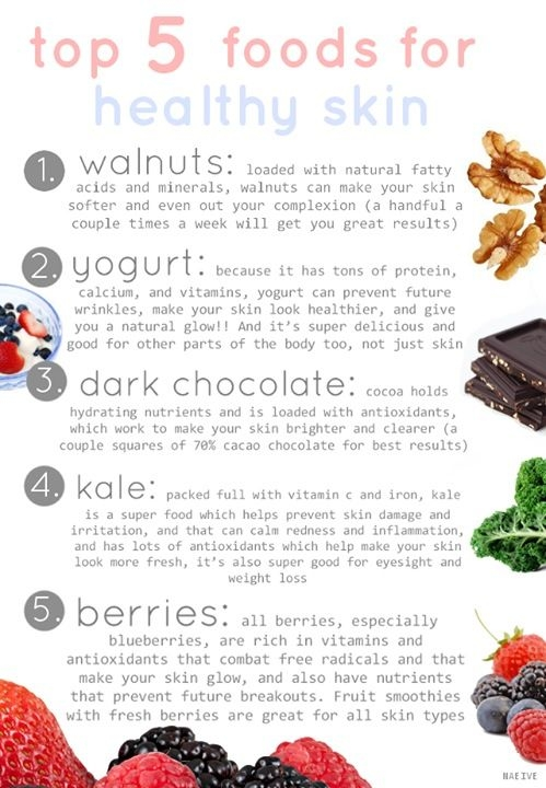 top-5-foods-for-healthy-skin