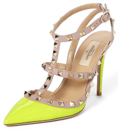 neon yellow valentino rockstuds \u003e Up to